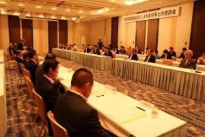 秋田県議会議員とJAグループで秋田県の農業課題を意見交換